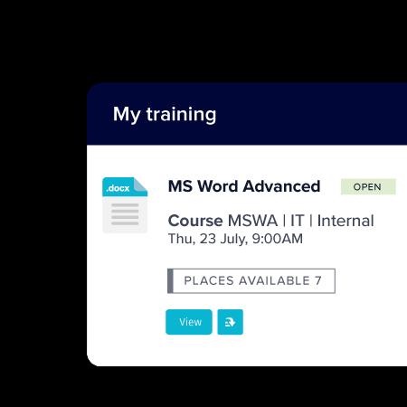 Training - TechnologyOne