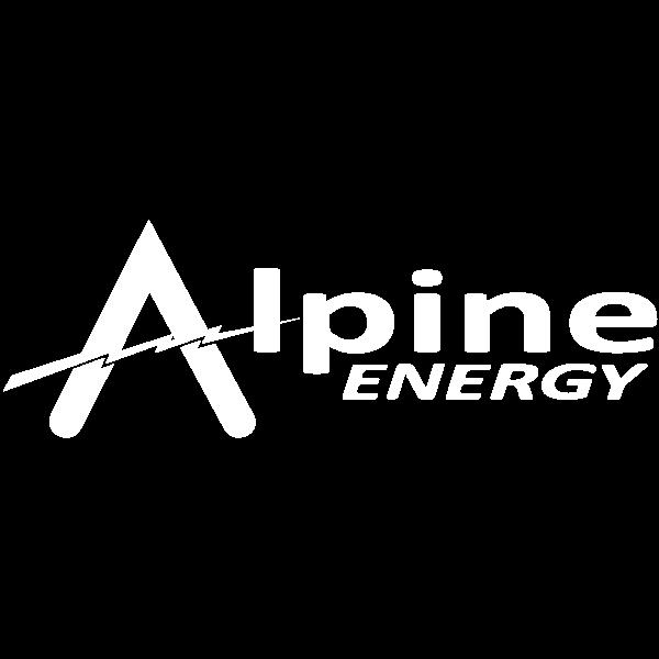 Alpine Energy logo logo